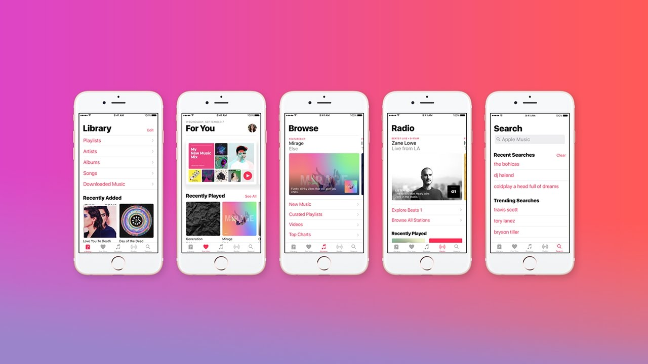 Apple music new features